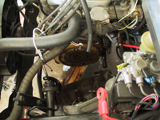 Saturn Sseries Manual Clutch Replacement