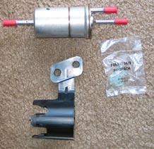 Saturn S-series Fuel Filter Replacet